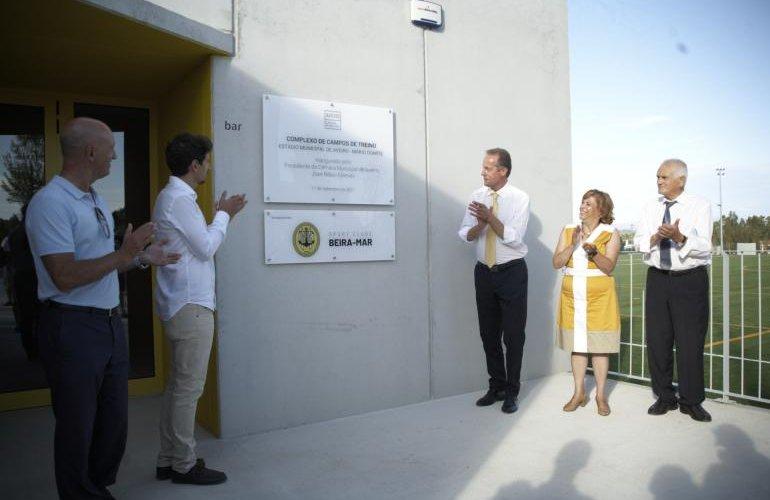 Inauguração do Complexo de Campos de Treino do EMA