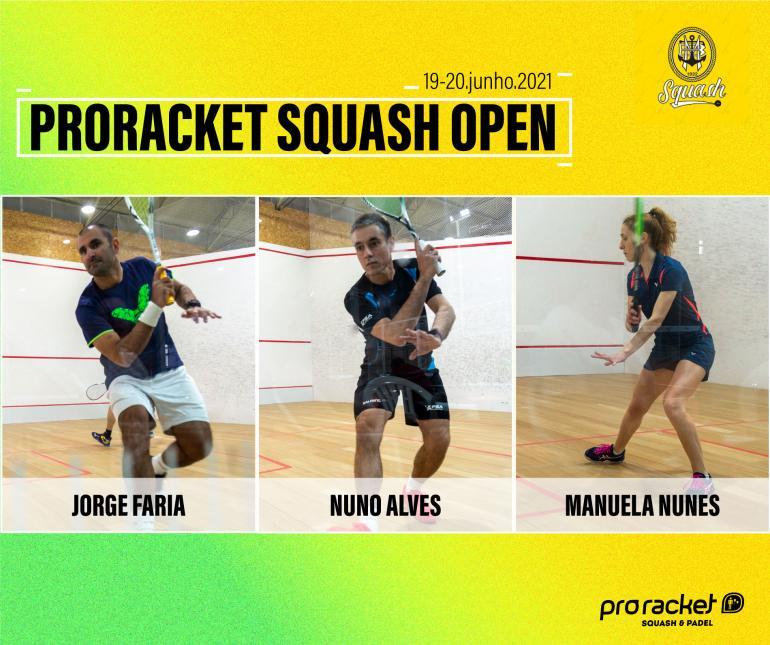 Beiramarenses na etapa do Campeonato Nacional de Squash