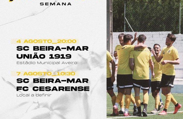 Dois jogos de pré-época para ver o SC Beira-Mar