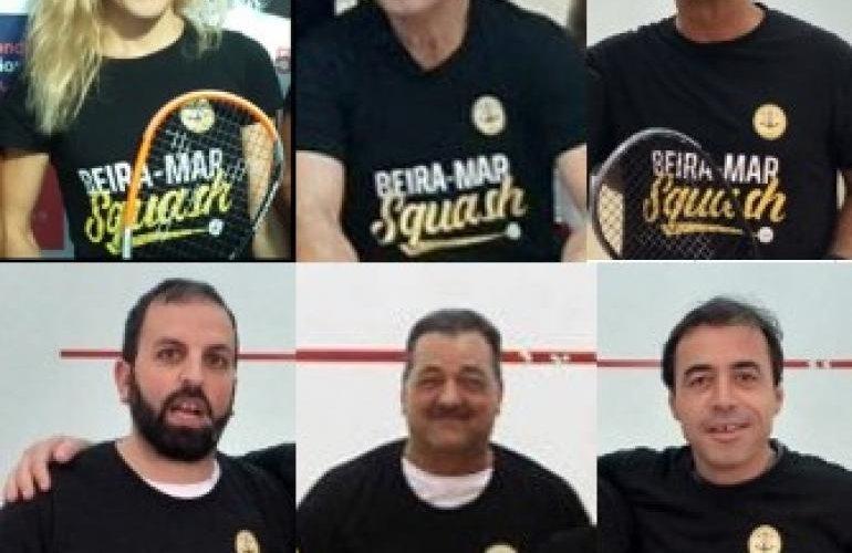 Novos dirigentes em funções no Squash Beira-Mar!