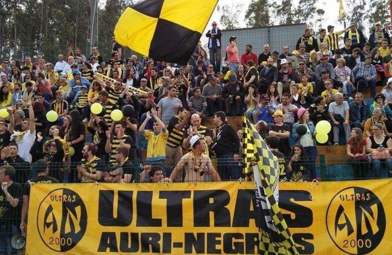 """Parabéns, """"Ultras Auri-Negros""""!"""