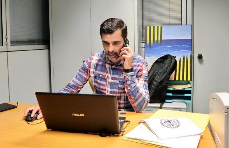 Pedro Moreira em funções