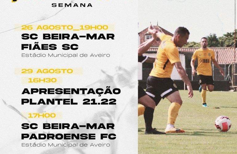 SC Beira-Mar apresenta-se domingo para a época 2021/22