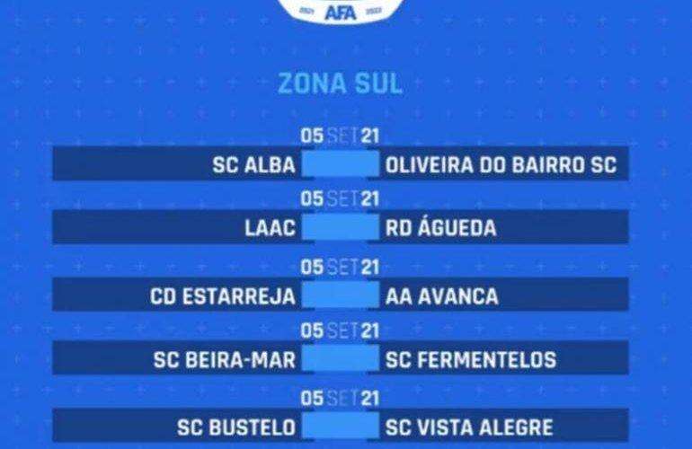 SC Beira-Mar recebe Fermentelos na ronda inaugural