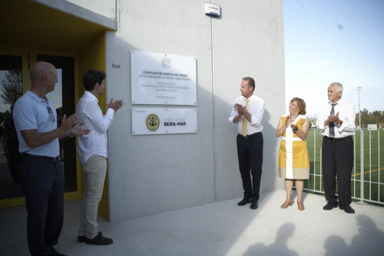 Complexo de Campos de Treino do EMA já é uma realidade!