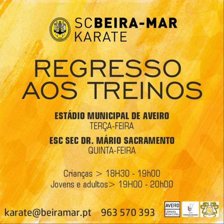Nova época de Karate pronta para começar