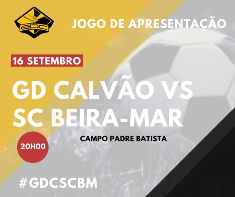 """SC Beira-Mar """"apadrinha"""" apresentação do GD Calvão"""