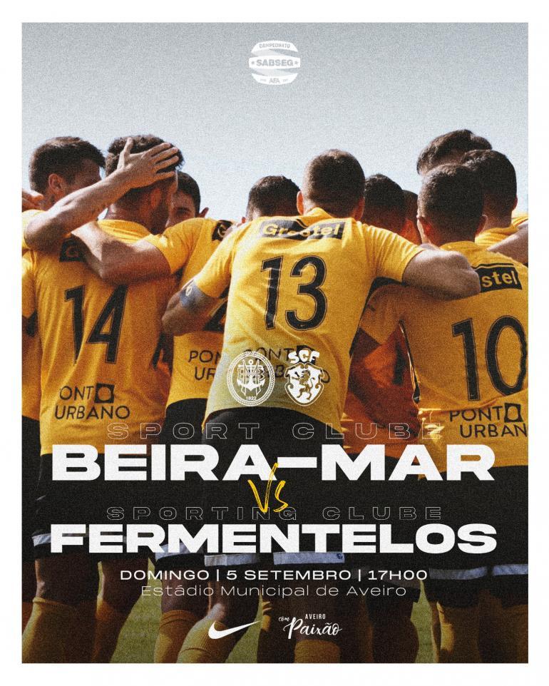SC Beira-Mar recebe Fermentelos para abrir campeonato SABSEG